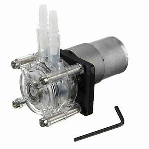 12v Large Flow Peristaltic Pump Tube Dosing Vacuum Aquarium Lab Analytical Water