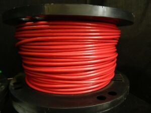 8 Gauge Thhn Wire Stranded Red 100 Ft Thwn 600v Copper Machine Cable Awg
