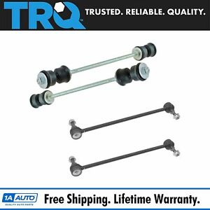 4 Piece Stabilizer Sway Bar End Link Front Rear Lh Rh Set For Gmc Chevy Suv New