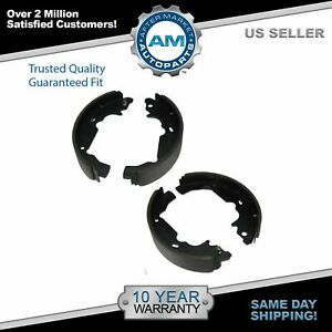 Nakamoto Rear Drum Brake Shoes Kit Set For 98 03 Toyota Sienna