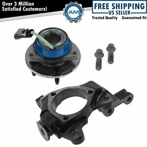 Front Passenger Side Wheel Hub And Bearing Assembly Steering Knuckle Spindle