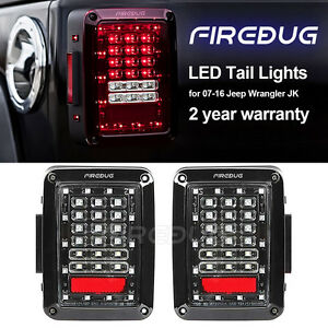 Firebug Jeep Wrangler Rear Tail Light Jeep Wrangler Led Tail Light Brake Light