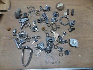 Vintage Car Part Lot Chevy Dodge Ford Ignition Switches Knob Rat Rod