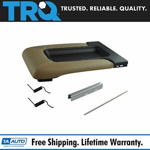 Trq Center Console Lid Repair Kit Tan For Gm Pickup Truck Suv New