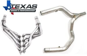 98 02 Camaro firebird Tsp Stainless Steel Ls1 1 7 8 Long Tube Headers W Y pipe