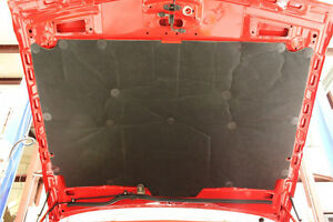 85 92 Camaro Iroc z Rs Z28 Under Hood Insulation Pad New Reproduction W 20 Pins