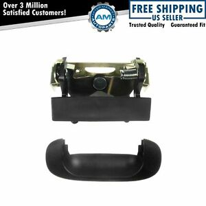 Tailgate Tail Gate Handle Bezel Black Rear For Dodge Ram 1500 2500 3500 New