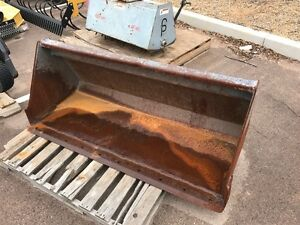 Used 60 inch Woods Lpsb60 Short Bottom Bucket