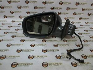 2008 Mercedes E350 W211 Left Door Mirror Gray