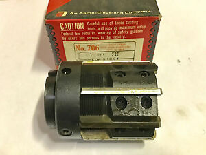 Cleveland Twist 2 13 16 Adjustable Shell Reamer Carbide Tipped Usa Made