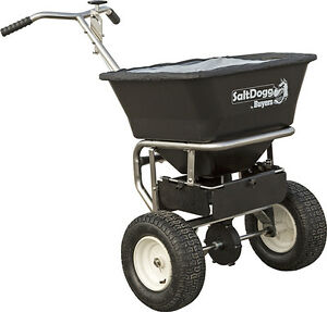 Saltdogg Wb201g Walk Behind Broadcast Salt Spreader Stainless Steel Frame