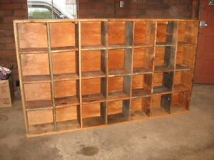 Wood Shelving Units Storage Bins Hvac Auto Farm Craft Man Cave Parts