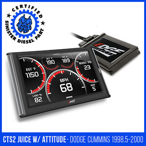 Edge Cts2 Juice With Attitude For 1998 5 2000 Dodge Cummins 5 9l