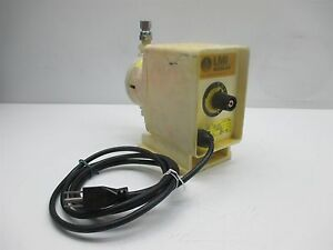 Milton Roy Lmi J051 191s Chemical Metering Pump Electronic __ 71gph 100psi