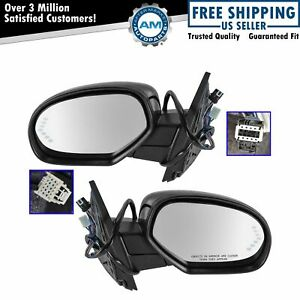 Mirror Power Folding Heated Signal Puddle Memory Paint To Match Pair For Gm New