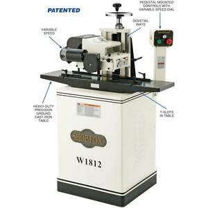 Shop Fox W1812x 2 Hp 7 Planer Moulder With Stand And Elliptical Jig