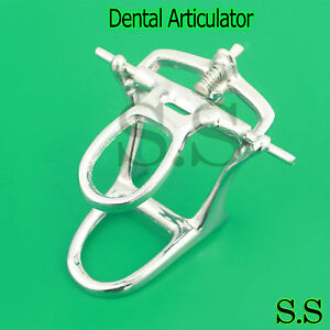 High Arch Chrome Articulator Dental Lab Pkg Of 5
