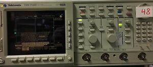 Tektronix Tds754d 500mhz 2gs s O scope 30 Days Warranty Opt 13 1f