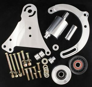 Lt1 Alternator Power Steering Billet Accessory Relocation Kit For Supercharger