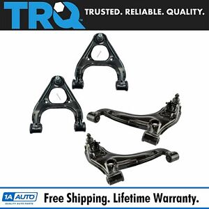 Front Upper Lower Control Arm Ball Joint Driver Passenger Kit Set 4pc For Miata