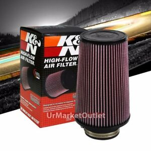 Kn 3 5 89mm Universal Rubber Cotton Gauze Cone Round Tapered Air Filter Re 0920