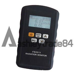 New Fs2011 Nuclear Radiation Detector Personal Dosimeter Alarms Radiation Meter