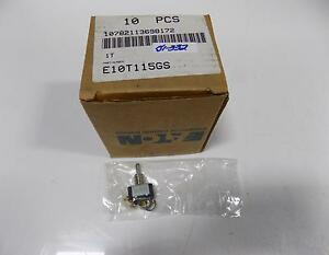 Eaton Cutler hammer Toggle Switch Lot Of 10 E10t115gs Nib pzb