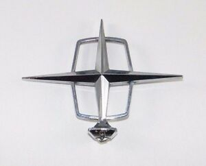 Vintage Oem Lincoln Hood Ornament Emblem Original
