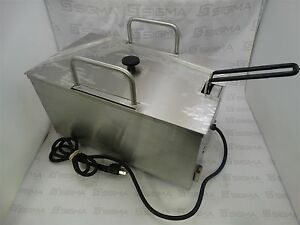 Nemco 88105 bvk Condiment Warmer With Liner And Basket 120v 60hz 150w Q16371