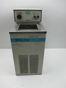 Neslab Endocal Rte 110 Chiller Heated Water Bath Lab Laboratory Unit Parts Repai