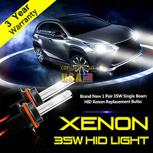 2x Xenon Hid Headlight Bulbs 880 9005 9006 H4 H7 H1 H11 H13 Conversion Light 35w