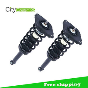 New Rear Pair Complete Struts Coil Springs Assembly For 2000 06 Nissan Sentra