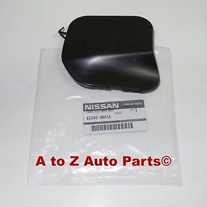New 2014 2016 Nissan Rogue Front Bumper Tow Eye Hook Access Cover Cap Oem