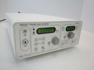 New Focus Tlb 6300 ln Velocity Tunable Laser Controller
