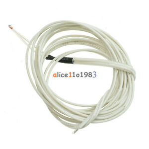 2 5 10 50pcs 100k Ohm 3950 1 Ntc Thermistor With Cable For 3d Printer Reprap Us