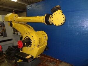 Fanuc M900ia 260l 6 Axis Robot With R30ia Controller 260 Kg X 3 100 Mm H reach