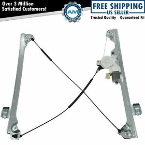 Ac Delco 20945138 Front Power Window Regulator W Motor Driver Left Lh For Chevy