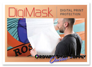 Digimask Application Transfer Tape For Digital Printed Graphics Vehicle Wraps