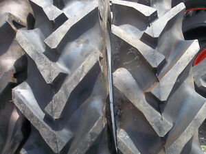2 11 2x28 Ford John Deere Tractor Tires W tubes 2 550x16 3 Rib W tubes