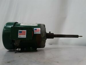 Dayton 3n628 Electric Motor 1hp 230 460v 60hz 3ph 1725rpm 3 6 1 8a Frame 56