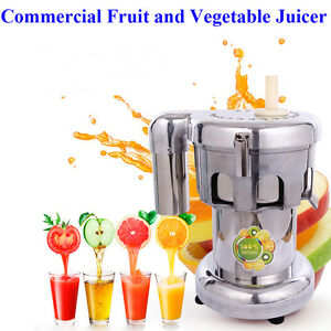 Brand New 110v Commercial Juicer Stainless Fruit And Vegetable Juicer