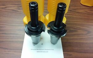 Cat50 er20 Collet Chuck 6 Gage Length X long 2 Chucks New Tool Holder Set