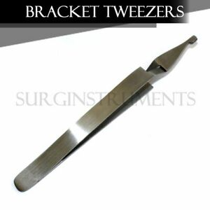 Lot Of 10 Wide Bracket Removing Placing Tweezers Pliers Orthodontic Dental