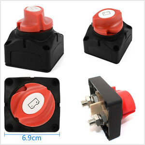 600a Car Battery Selector Isolator Disconnect Rotary Switch For Flash fog Light