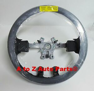New 2013 2018 Dodge Ram 1500 5500 Black Leather Wrapped Steering Wheel Oem Mopar