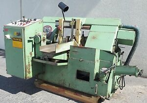 Doall Model C 260a Automatic Feed Horizontal Band Saw 10 X 12 5hp Motor