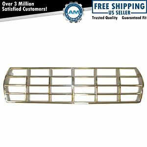 Grille Grill Chrome Front For 78 79 Ford Bronco F100 F150 F250 F350