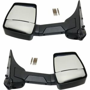 Performance Right Left Side New Mirrors Set Of 2 Econoline Van Lh Rh Ford Pair
