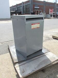 General Electric Ql Type Transformer 37 5 Kva Cat 9t23b2582 Od 444