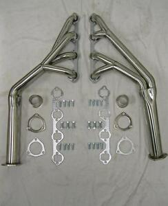 1964 1970 Ford Mustang Cougar 260 289 302 Tri Y Stainless Exhaust Headers